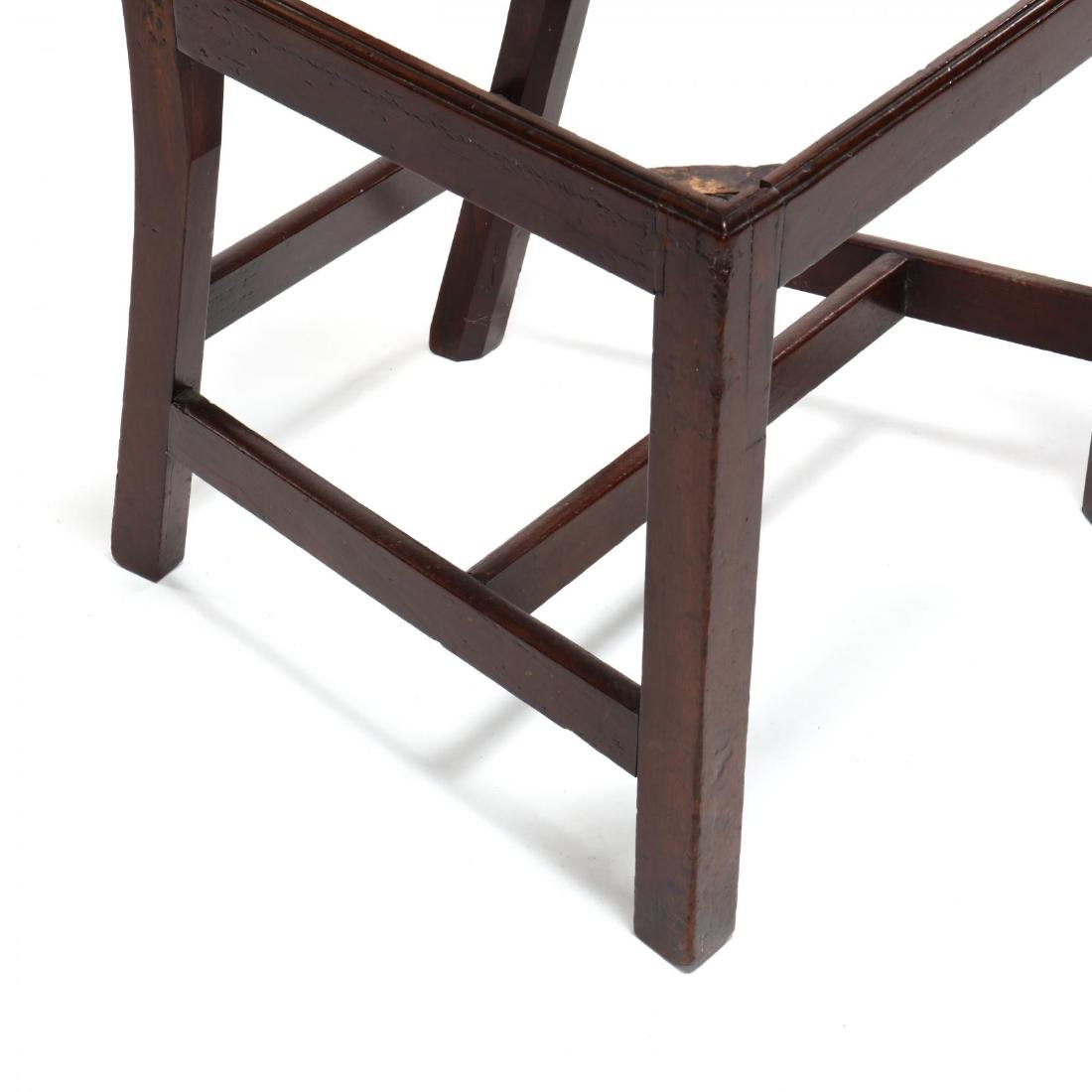 Set of Six American Chippendale Mahogany Side Chairs - 7