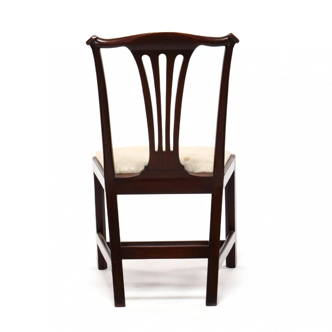 Set of Six American Chippendale Mahogany Side Chairs - 8