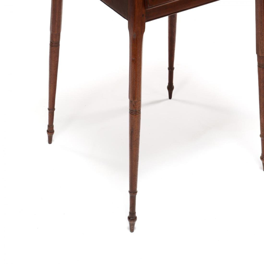 Southern Federal Splayed Leg Walnut One Drawer Stand - 4