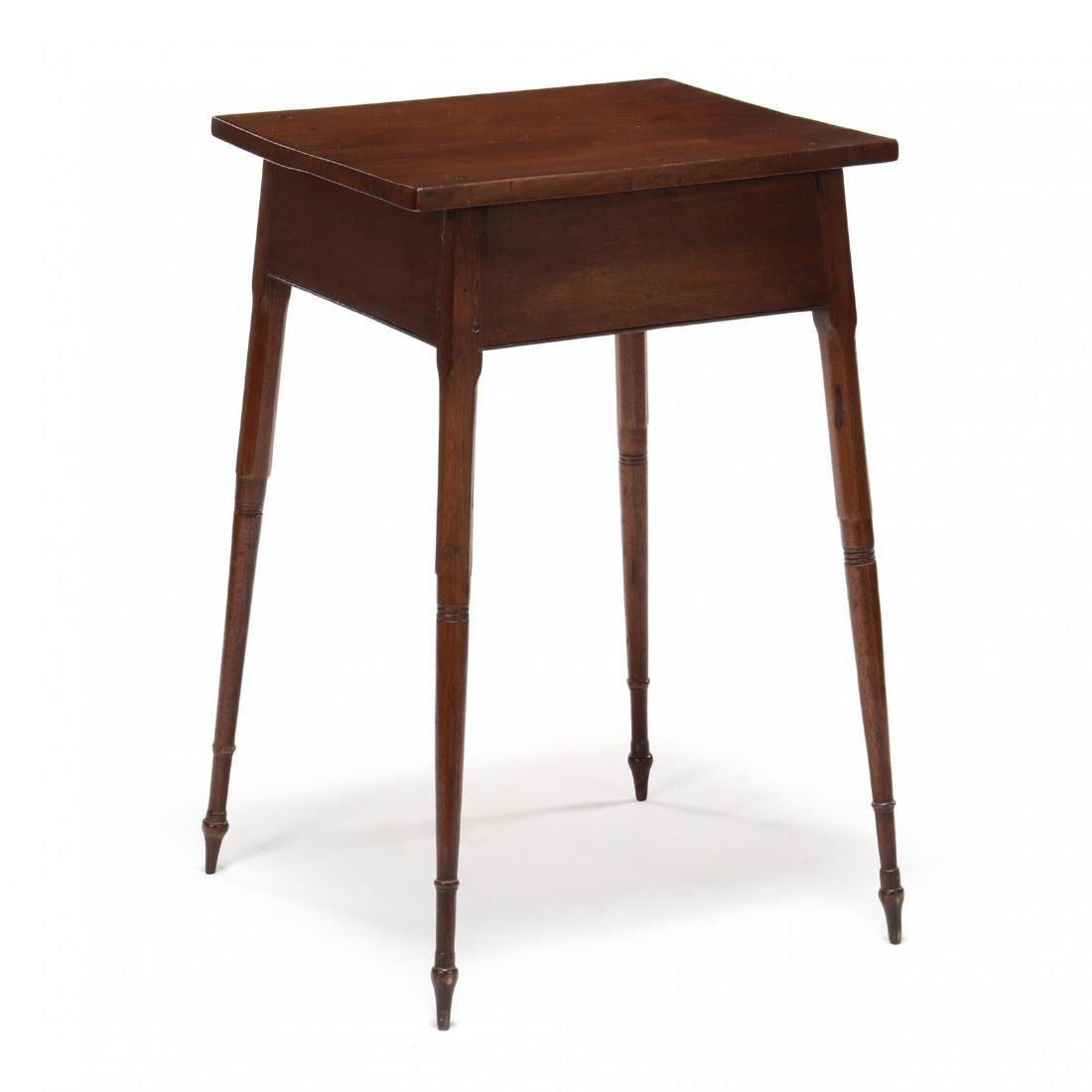 Southern Federal Splayed Leg Walnut One Drawer Stand - 5