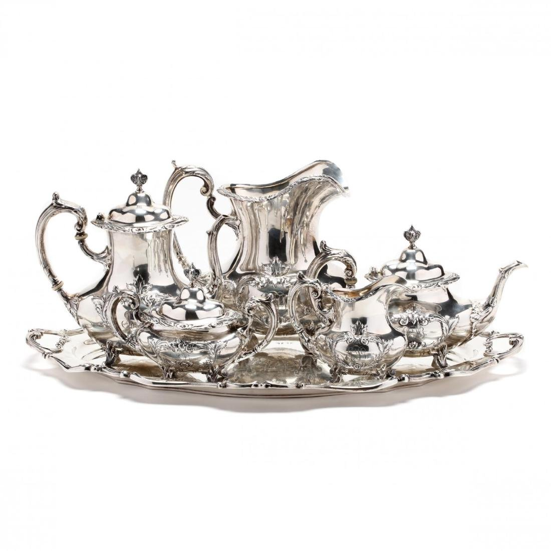"Reed & Barton ""Burgundy"" Sterling Silver Tea & Coffee"