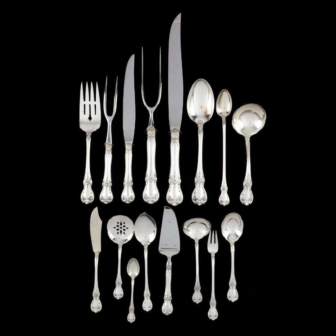 """Towle """"Old Master"""" Sterling Silver Flatware Service - 5"""