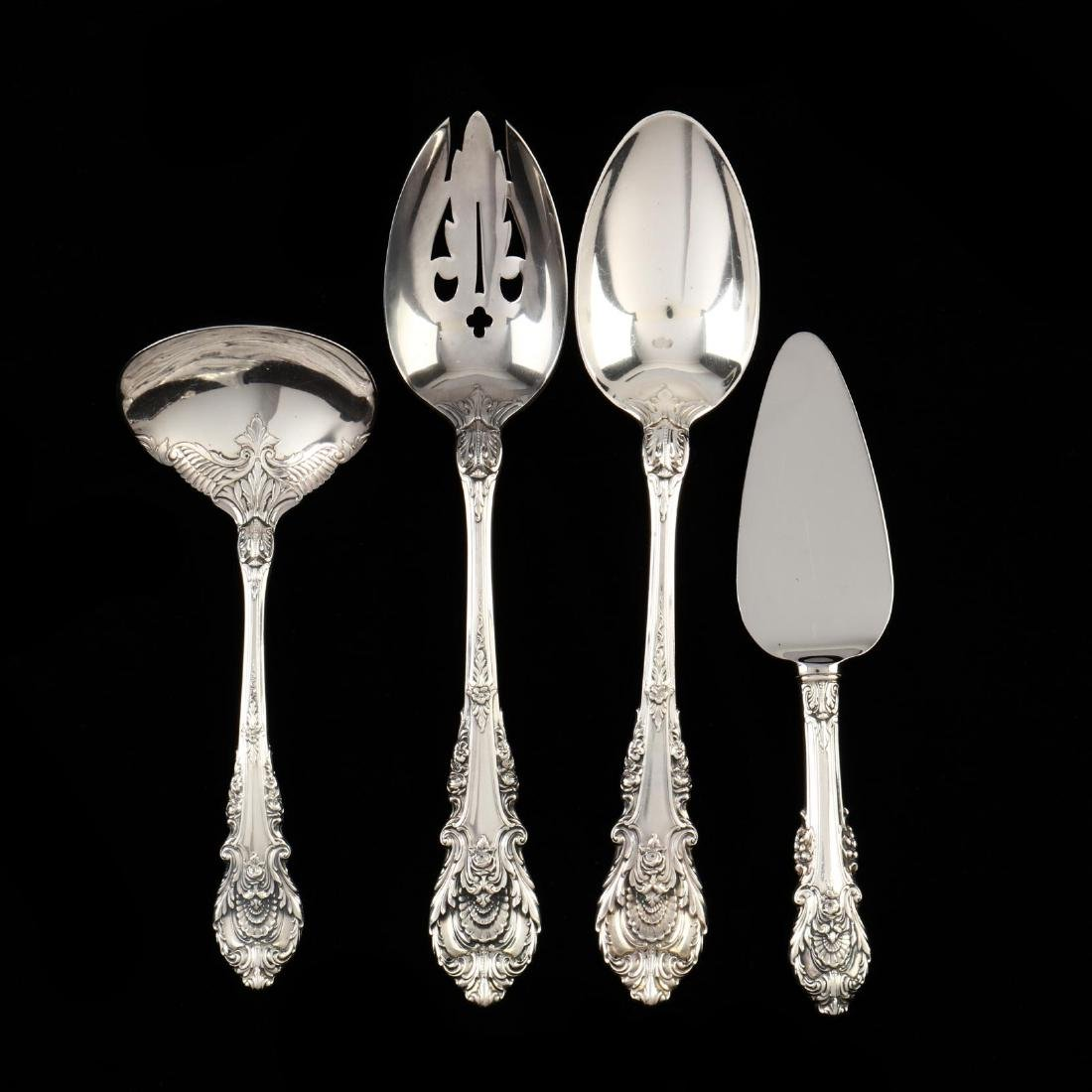 "Wallace ""Sir Christopher"" Sterling Silver Flatware - 4"