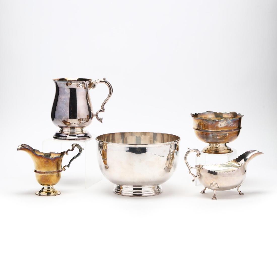 Five Elizabeth II Irish Silver Tablewares - 2