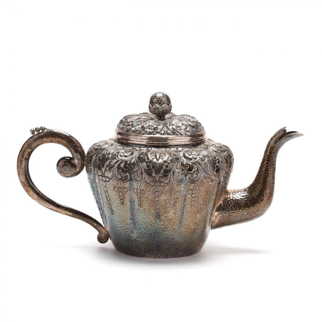 An Indonesian Yogya Silver Tea Service - 6
