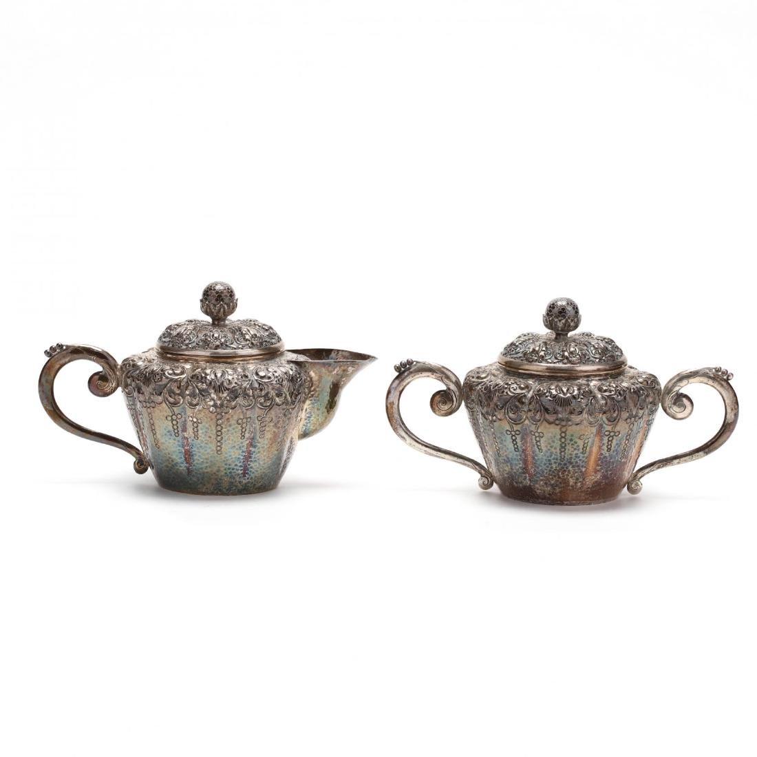 An Indonesian Yogya Silver Tea Service - 8