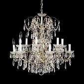 Schonbek, Classical Style Drop Prism Chandelier