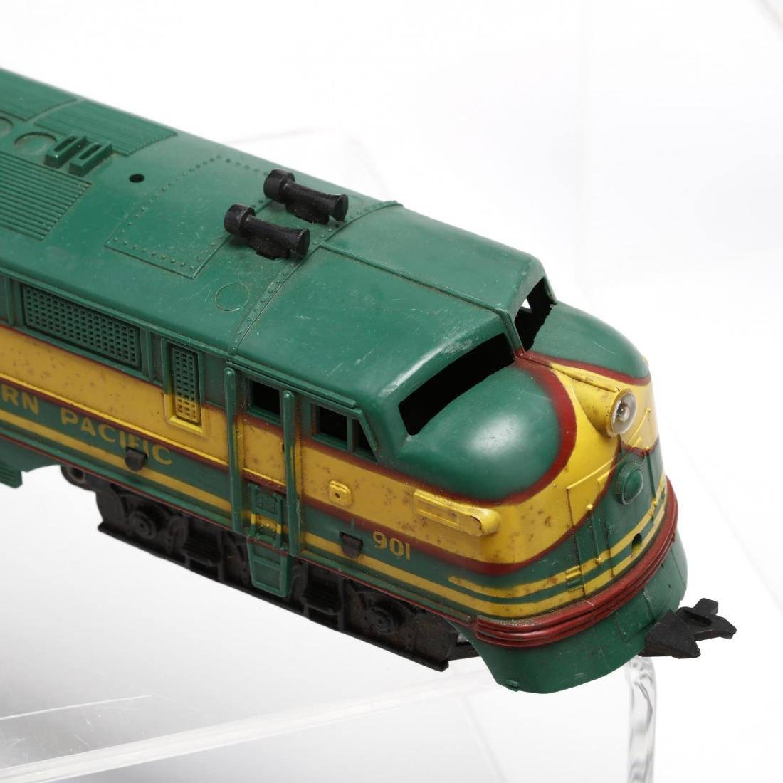 Group of Vintage Post War Toy Trains - 4