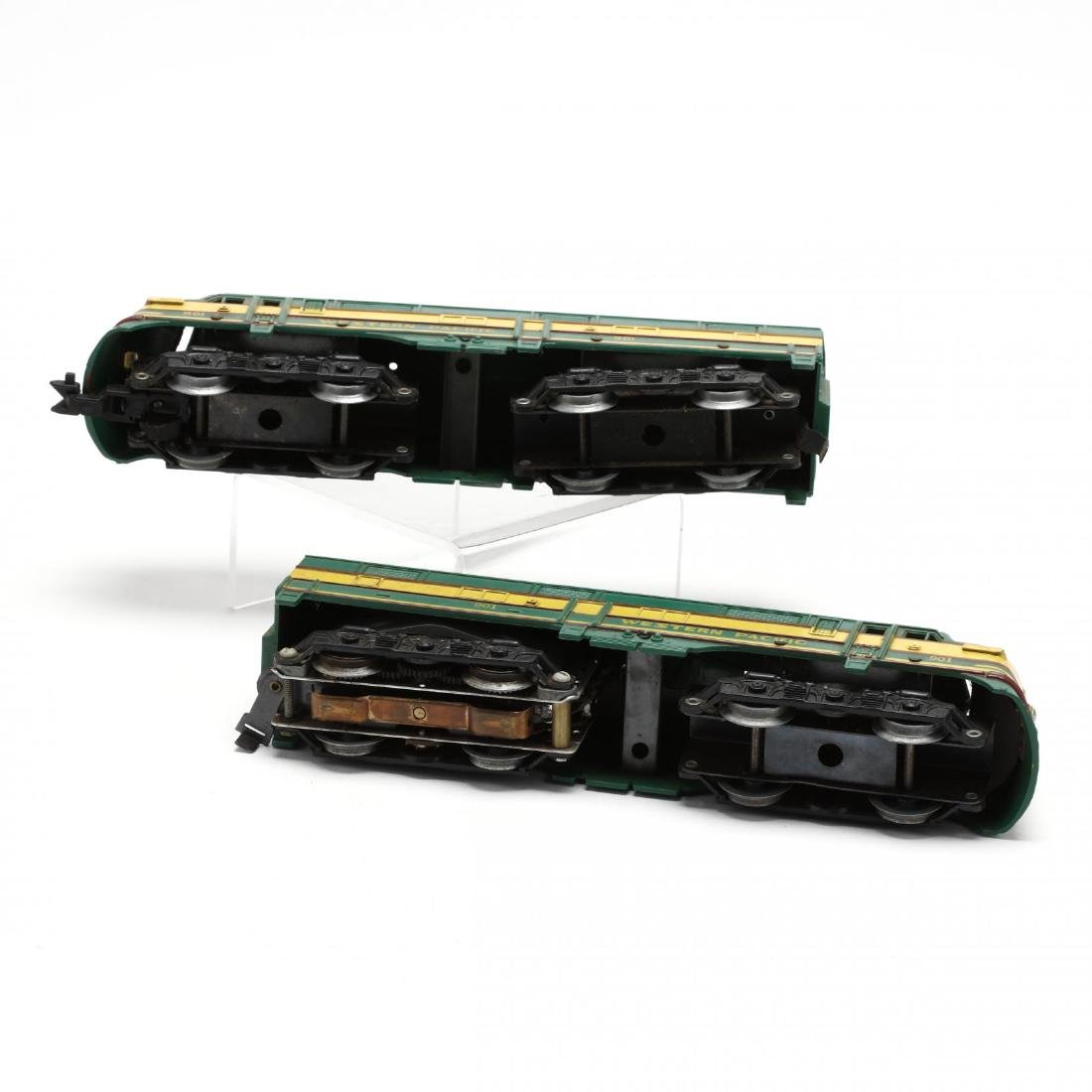Group of Vintage Post War Toy Trains - 9