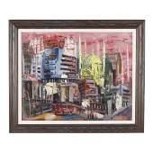 Jack Berkman (NC, 1908-1999), City Street