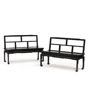 Schmieg & Kotzian, Pair of Chinese Chippendale Style