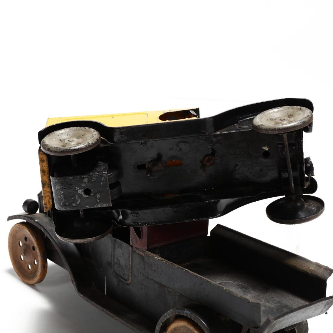 Two Antique Pressed Tin Toy Trucks - 3