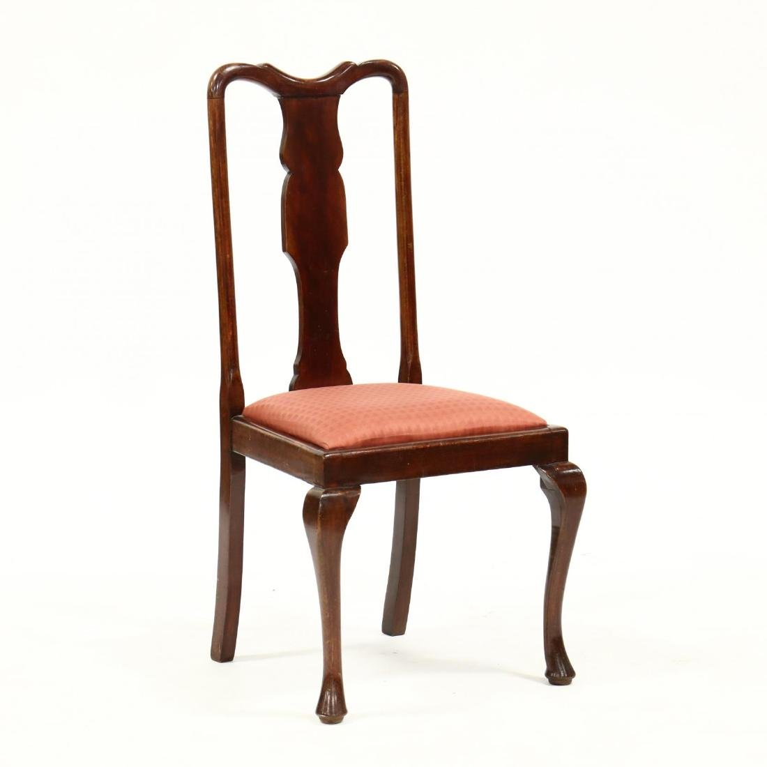 Set of Four Queen Anne Style Dining Chairs - 2