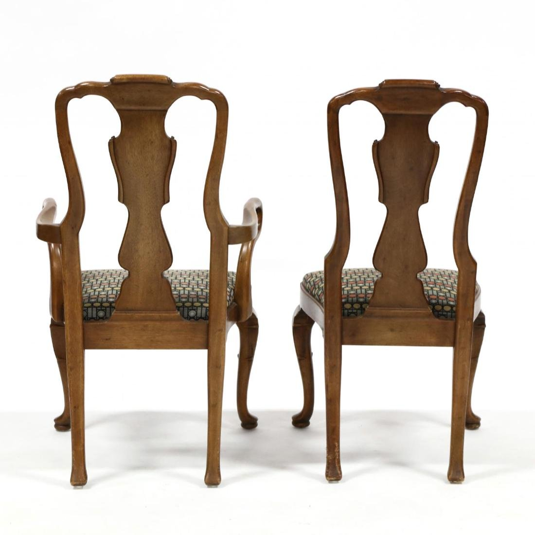 Henredon, Set of Eight Queen Anne Style Dining Chairs - 8