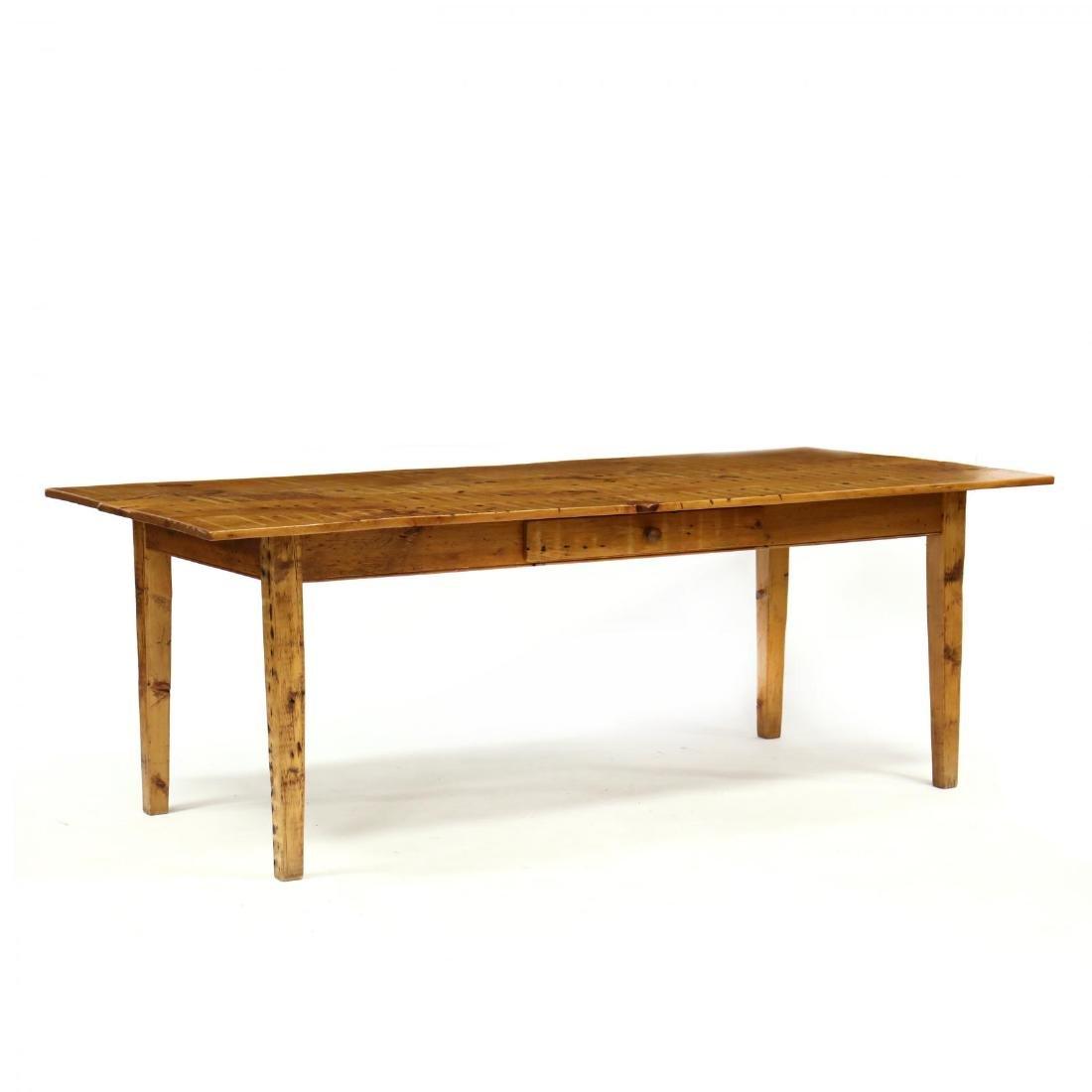 Staples Cabinet Makers, Custom Pine Farm Table
