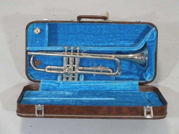 1096: Yamaha YTR 232S Trumpet,