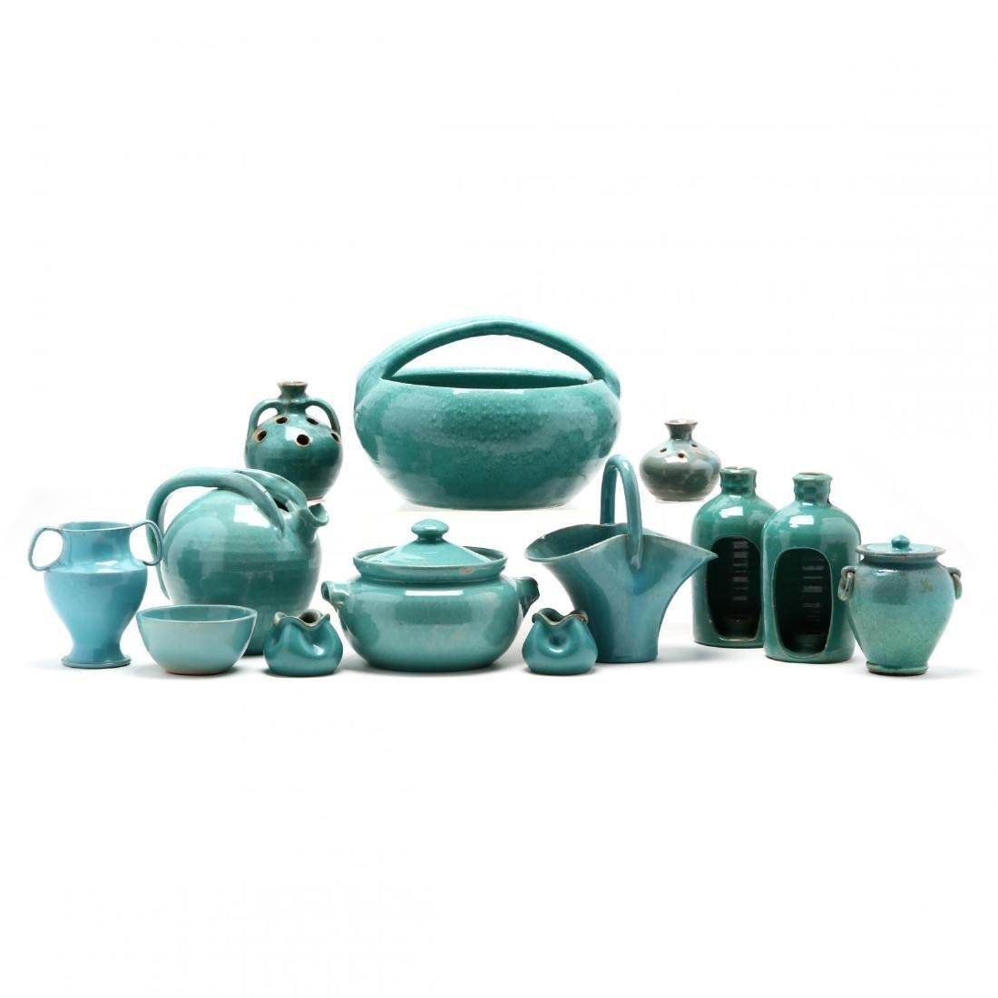 Vintage Cole Pottery Group