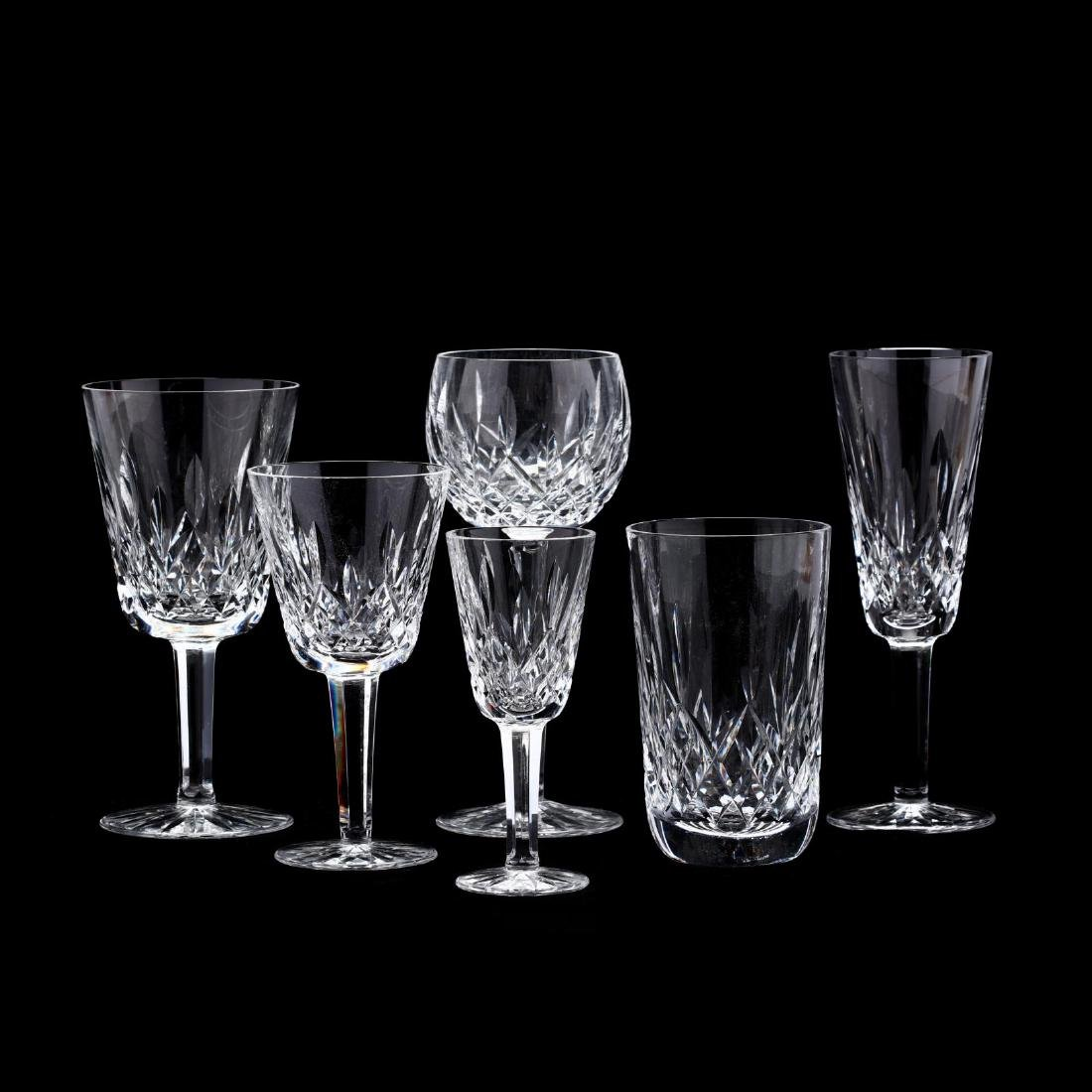 "A Suite of Waterford ""Lismore"" Crystal Stemware"