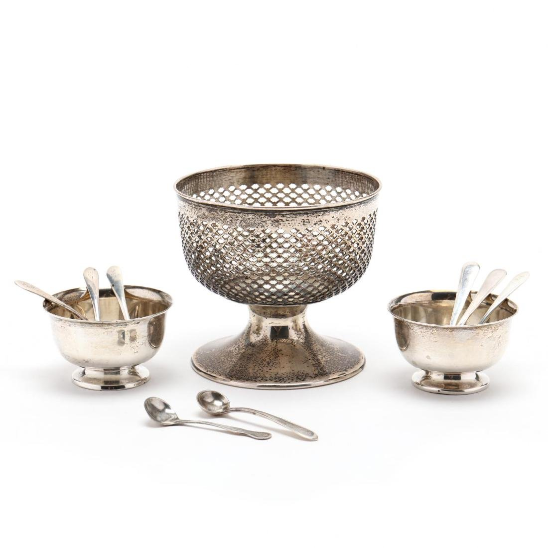 A Group of Sterling Silver