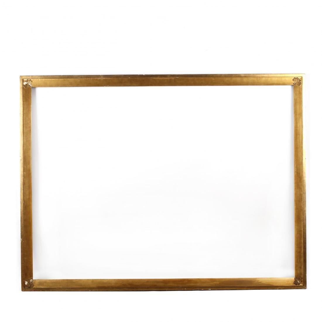 Large Antique Gilt Wood Frame