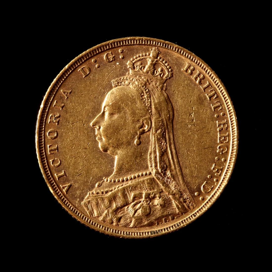 Great Britain, 1890 Gold Sovereign
