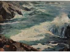 94: Emile Gruppe (MA, 1896-1978), Bass Rocks,