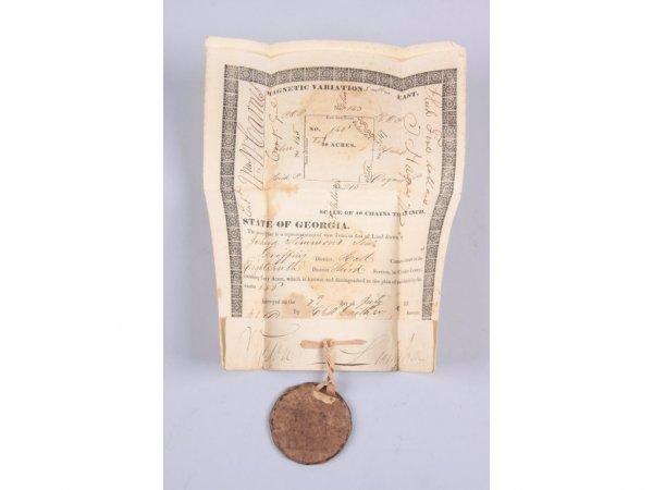 544: Cherokee County, GA 1832 Land Lottery Deeds,