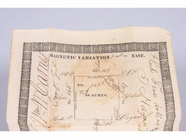 544: Cherokee County, GA 1832 Land Lottery Deeds, - 2