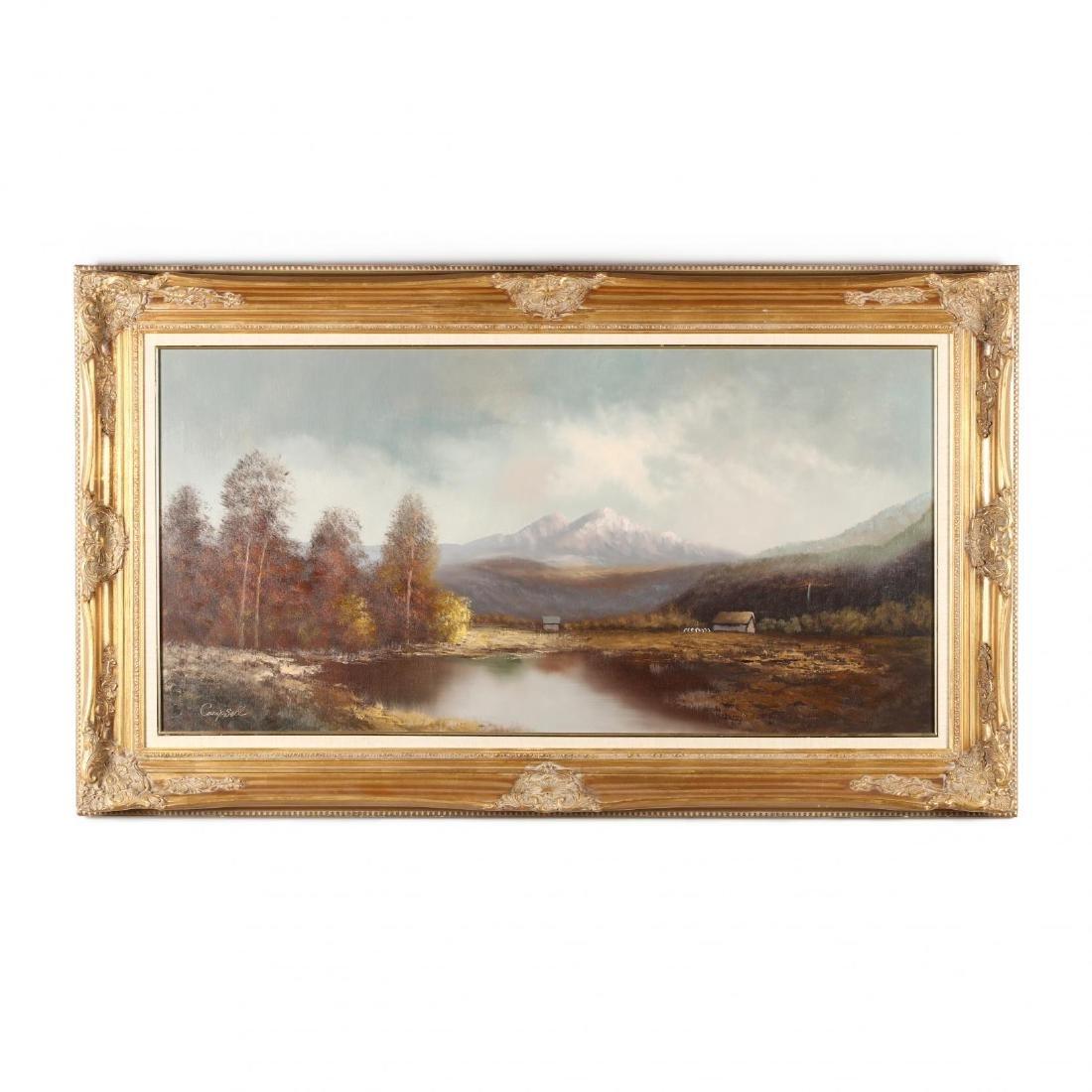 A Contemporary Decorative Landscape Painting