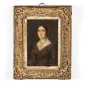 Continental School (19th century), Portrait of a Woman