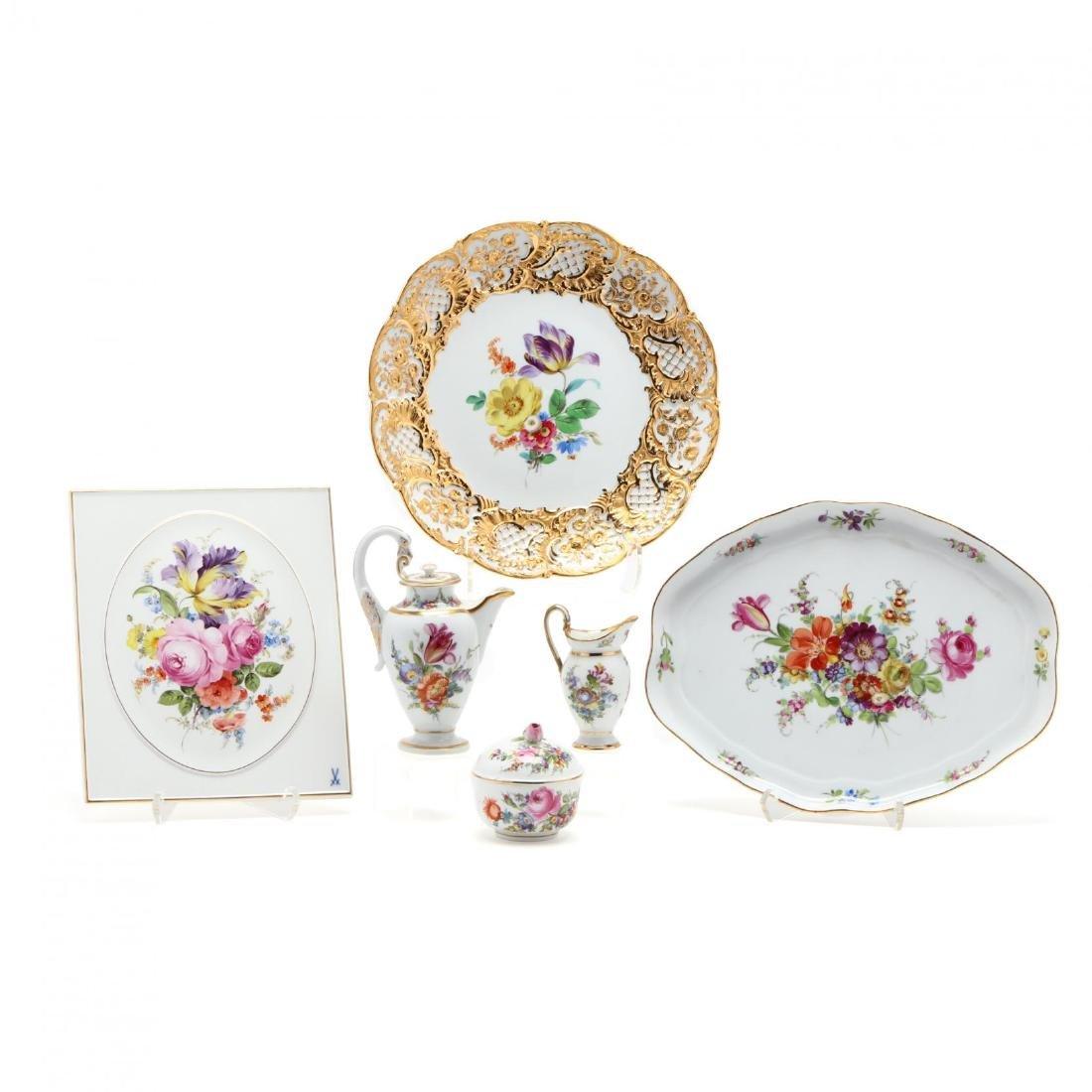 Meissen Porcelain Selection