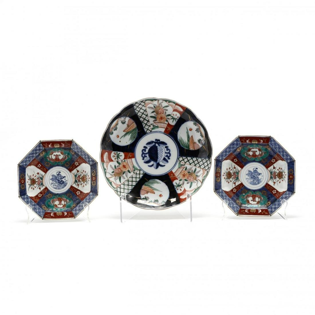 Three Pieces of Imari Porcelain
