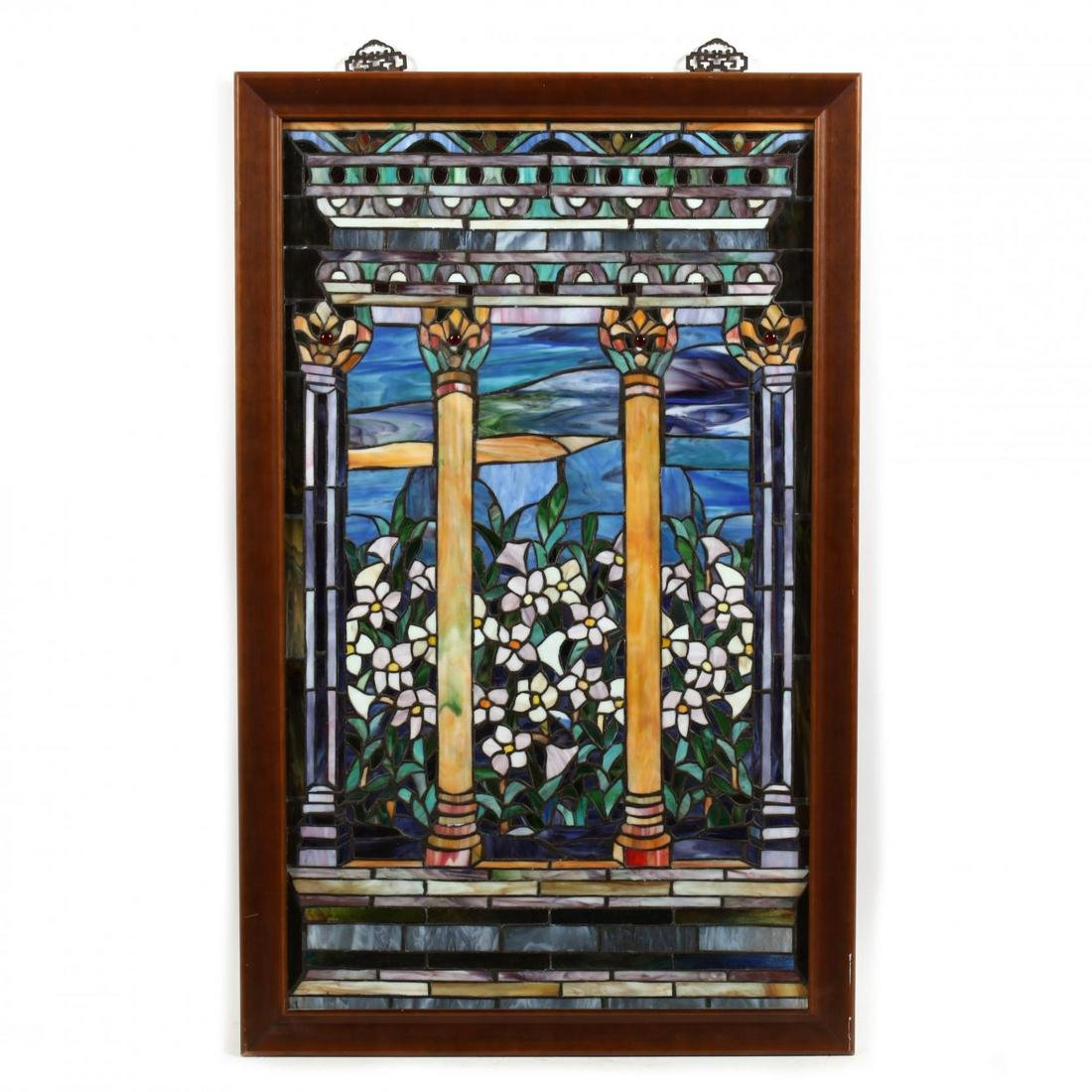Contemporary Stained Glass Panel