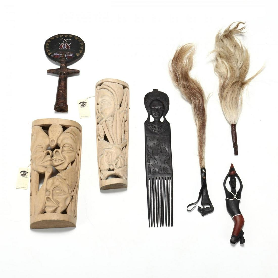 Seven African Decorative Items