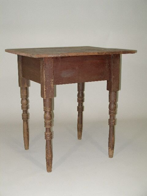 1007: Country Work Table, Late 19th c., Forsythe Co. NC