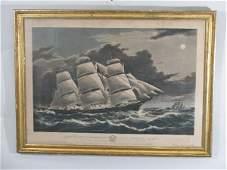 "N. Currier Large Folio ""Clipper Ship Dreadnought"