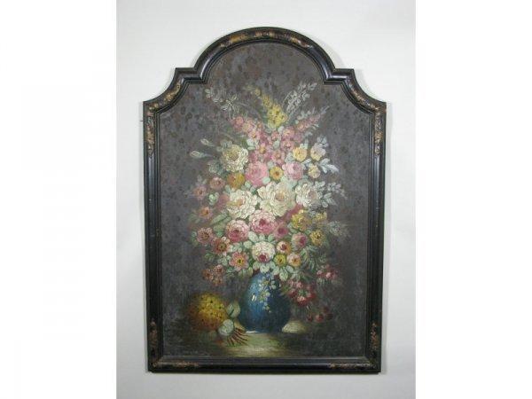 4: English School, Floral Still Life, 19th c.,