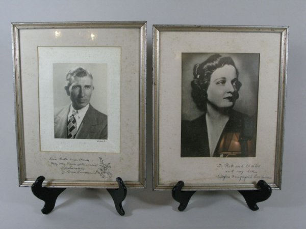 7: Portraits of Mr. & Mrs. Louis Lundean,