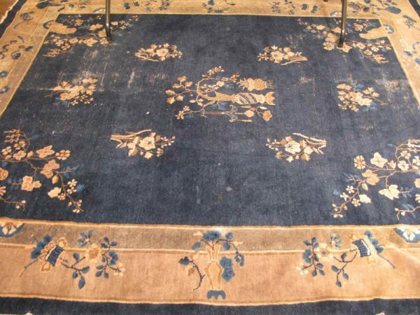 11: Chinese Art Deco Room Size Rug, ca. 1930s,
