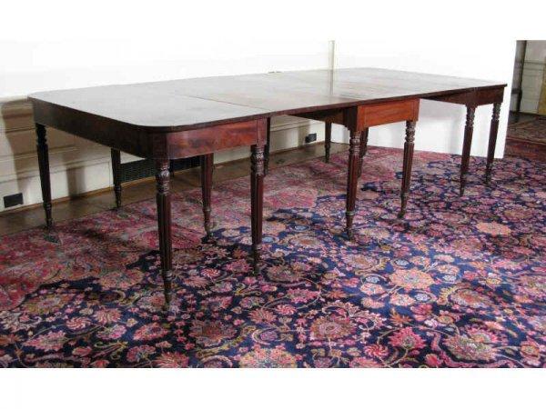 16: Sheraton Banquet Table, American, ca.1820s,