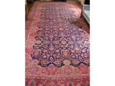 65 Persian Large Room Size Rug Kerman ca 1920s