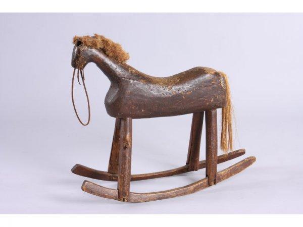 1021: NC Child's Rocking Horse, 19th c.,