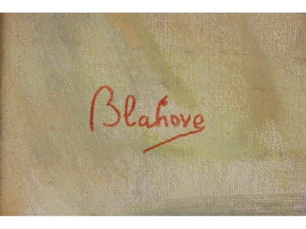 1195: Marcos Blahove (GA, 20th c.), Portrait of a Woman - 2