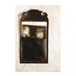 Andrew Wyeth (PA, 1917-2009), Mirror, Mirror
