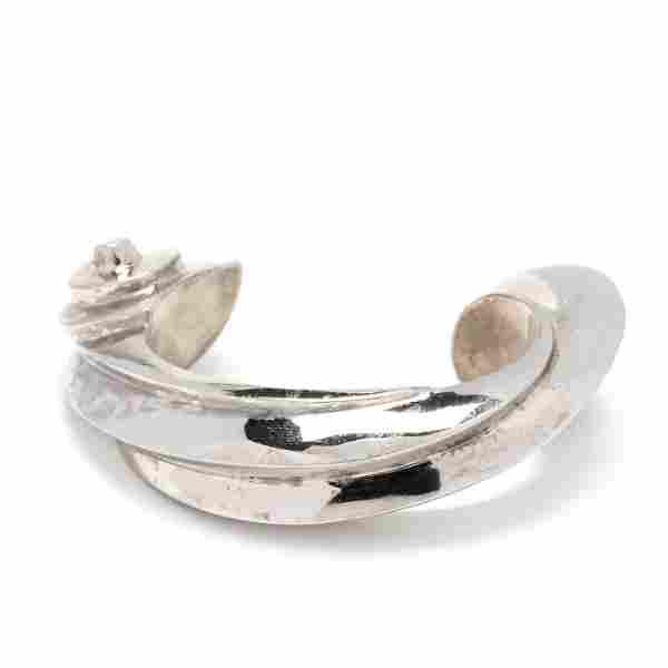 Modernist Sterling Silver Bracelet, Patricia Von