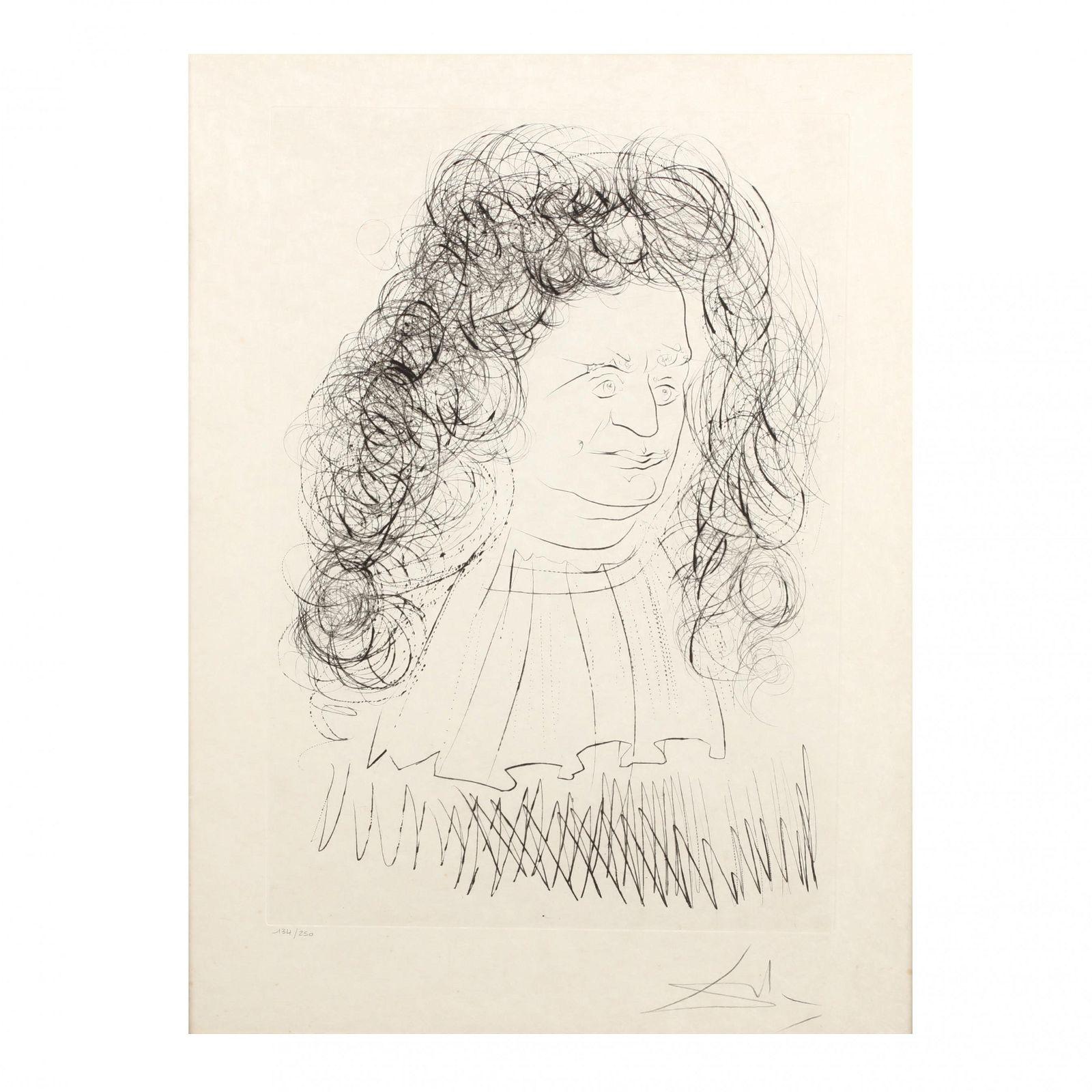 Salvador Dalí (Spanish, 1904-1989),  Le Portrait de La