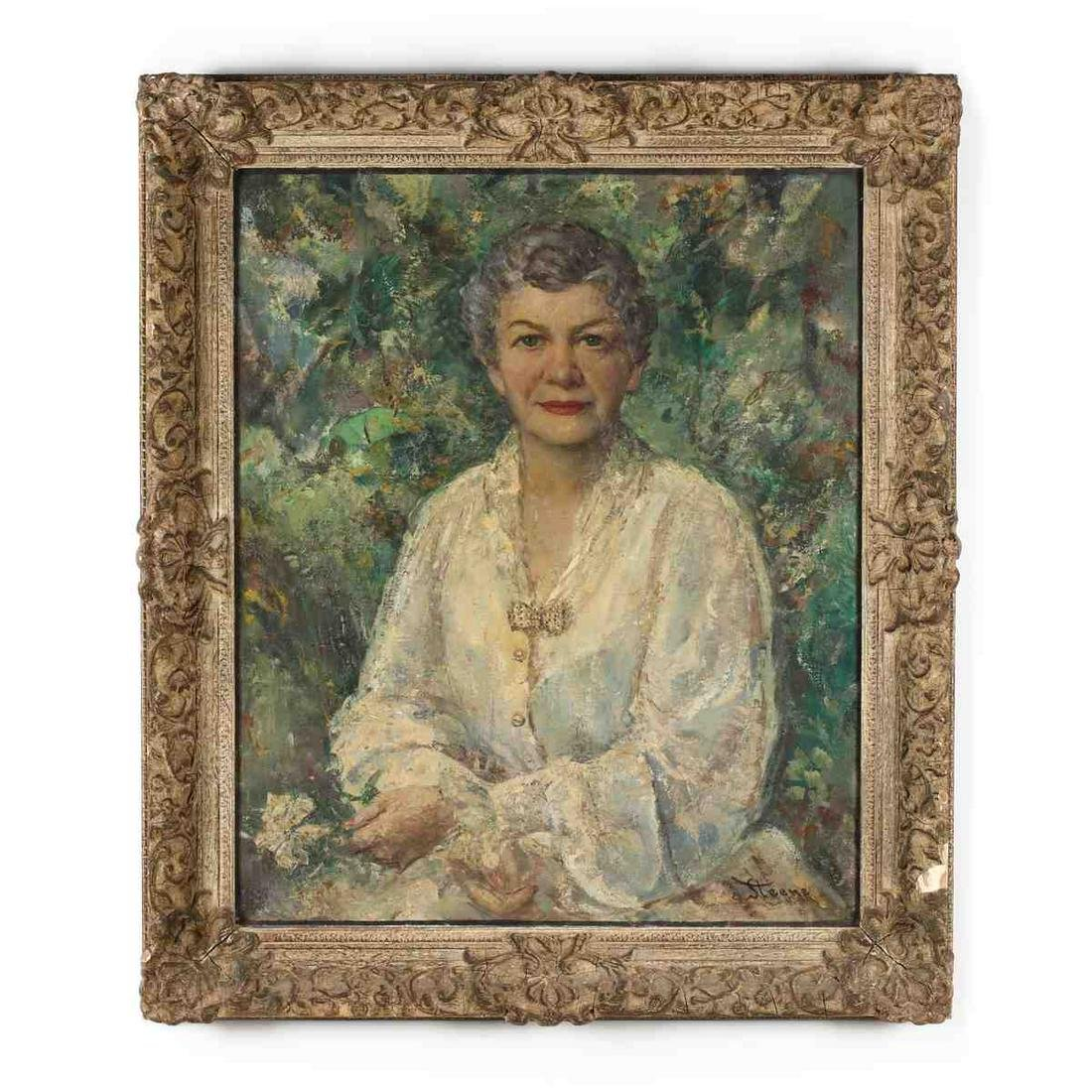 William Steene (American, 1888-1965),  Portrait of My