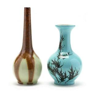 Two Asian Porcelain Vases