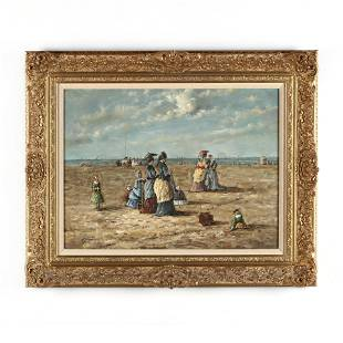 manner of Eugne Boudin French 18241898 On the