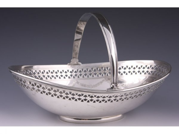 8: Tiffany & Co. Sterling Silver Cake Basket,